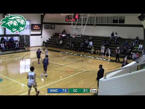 Men's Basketball: Greensboro College vs. Warren Wilson College