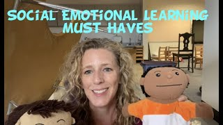 Preschool Social Emotional Learning Must Haves