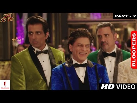 Happy New Year - A Farah Khan Film | Bloopers (Part 2)