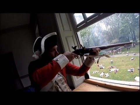 Revolutionary War Reenactment: Battle of Germantown 2015