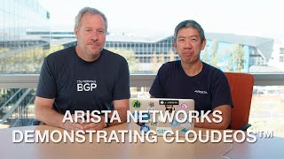 Arista Networks Demonstrating CloudEOS™