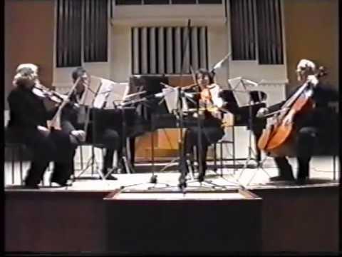 V Zubitsky String Quartet №2  Odessa 11 03 2003