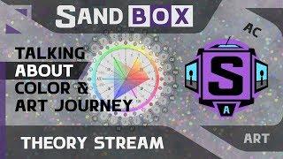 (Говорим о цвете и пути художника) Creative Sandbox [RUS / eng] - Сессия 1