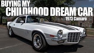 Buying My Childhood Dream Car | 1973 Camaro