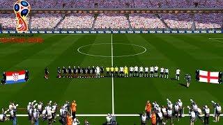 Croatia vs England | Semi-final | FIFA World Cup Russia 2018 Gameplay
