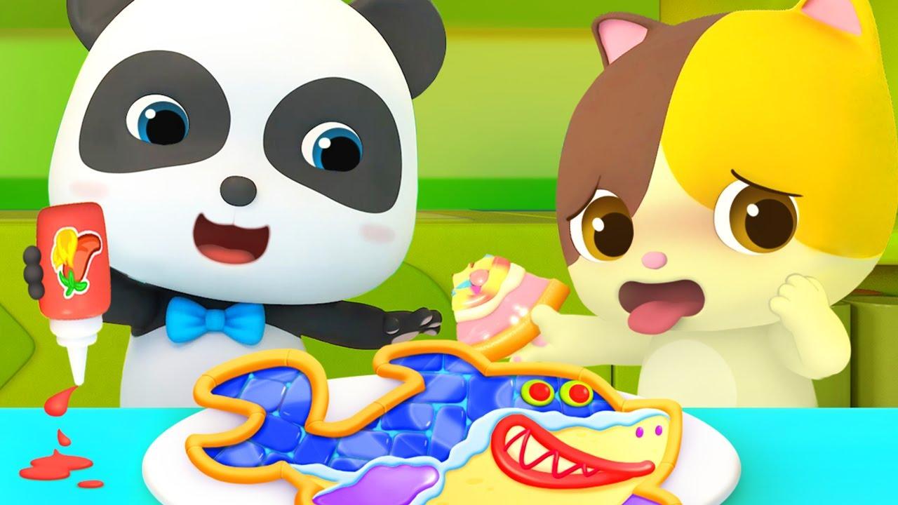 Создадим новую пиццу | Мими и её семья | Панда Кики | Детские песенки | BabyBus