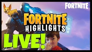 FORTNITE GAMEPLAY WITH TYRIN - FORTNITE FUNNY MOMENTS + HIGHLIGHTS