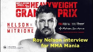 """Big Country"" Roy Nelson Interview Before"