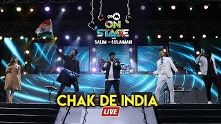 Chak De India , Salim Sulaiman Live , 9XM On Stage