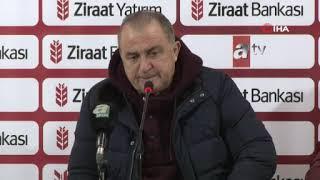 Fatih Terim'den sert açıklamalar! | Rizespor 1-1 Galatasaray