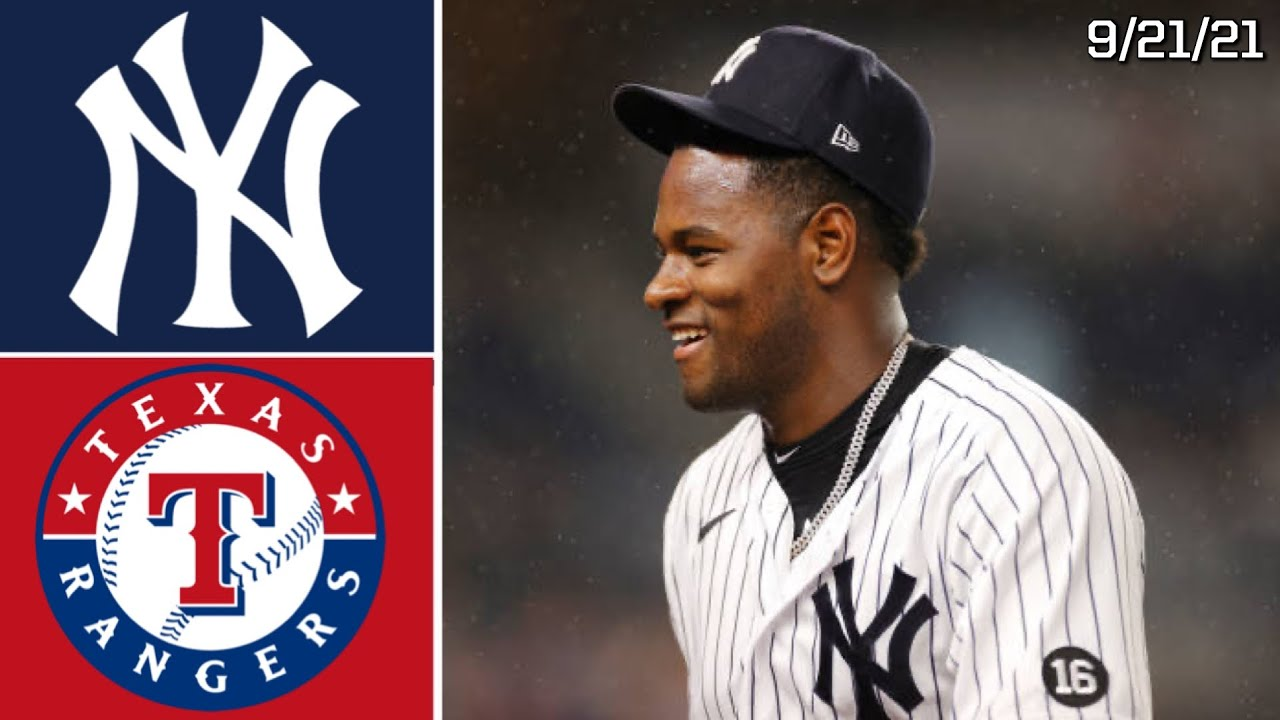 New York Yankees Vs. Texas Rangers   Game Highlights   9/21/21