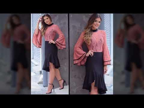 Faldas super modernas ultima moda