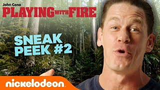 Playing With Fire Exclusive Sneak Peek #2 w John Cena  Nick