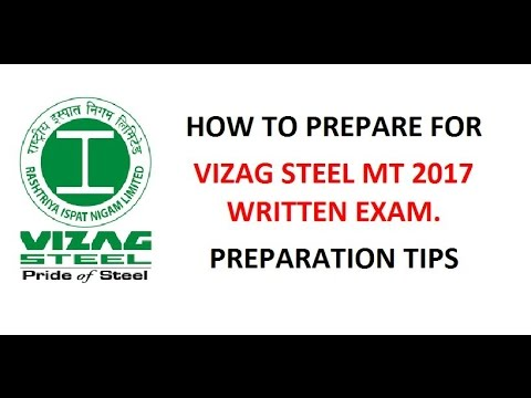 Vizag steel  MT exam preparation strategy | RINL recuirtment 2017