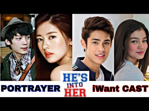 HES INTO HER Portrayer AND IWANT CAST   KUNG IKAW PAPILIIN, SINO ANG GUSTO MONG GUMANAP?