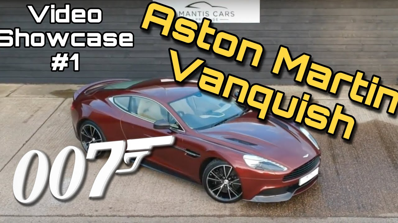 Our Bridgewater Bronze Aston Martin Vanquish. Mantis Cars