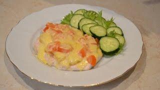 Курица с ананасами. Очень быстрый и простой рецепт.