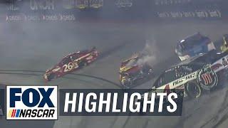 Bristol Highlights - NASCAR 2015 Sprint Cup