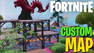 BLAST OFF! - Fortnite Creative Custom Map (Building Timelapse)