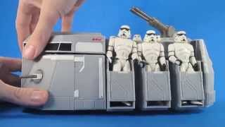 Star Wars Rebels Imperial Troop Transport Vehicle Review - Six Second Toy Talk