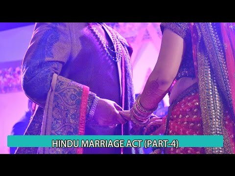 Hindu Marriage Act (Part-5) in brief Detail in hindi