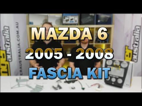 Stinger Australia New Product - Mazda 6 2005 - 2008 Radio Replacement Kit
