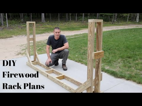 How To Build A Firewood Rack - The Best Way
