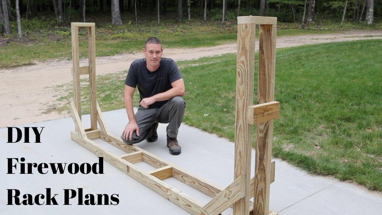 4ft//8ft Firewood Wood Log Rack Lumber Storage Holder Backyard for Fireplace US