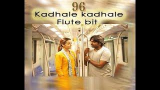 Kadhale kadhale flute bit 💔| 96 | By Venkatesan for Vforvisuals