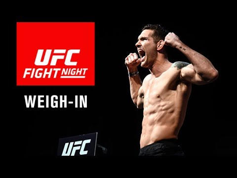 UFC Fight Night Long Island:   Official Weigh-in