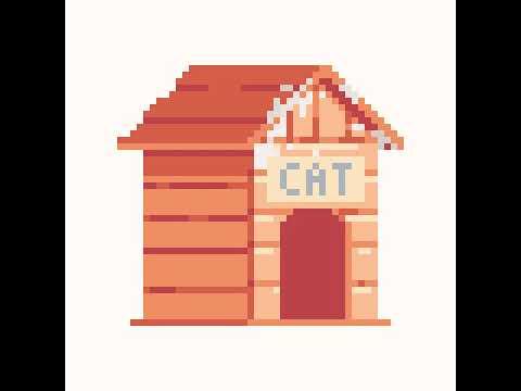 Bonne maison de chat