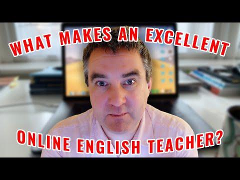 What Makes An Excellent Online English Teacher