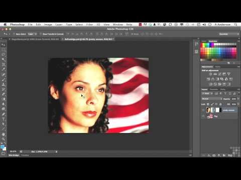Adobe Photoshop CS6 Tutorial | Working With Refine Edge | InfiniteSkills