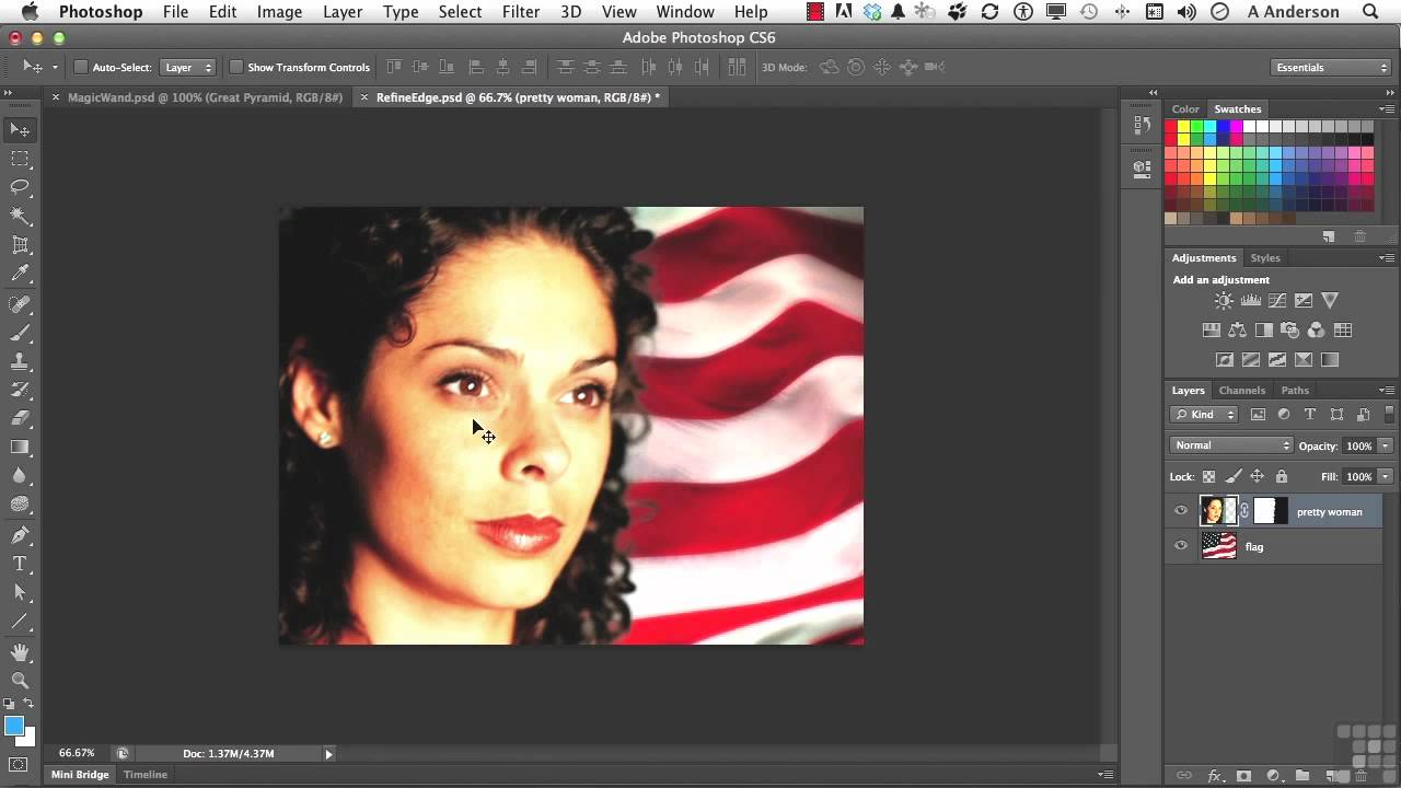 Adobe photoshop cs6 tutorial working with refine edge adobe photoshop cs6 tutorial working with refine edge infiniteskills youtube baditri Choice Image