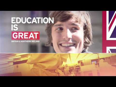 Study in the UK - Knowledge is GREAT