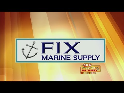 Marine Minute - Fix Marine Supply: How to maintain your boat lift 07/20/2015