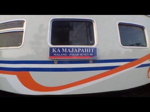 #1 Trip Report Kereta Majapahit Jakarta - Kediri