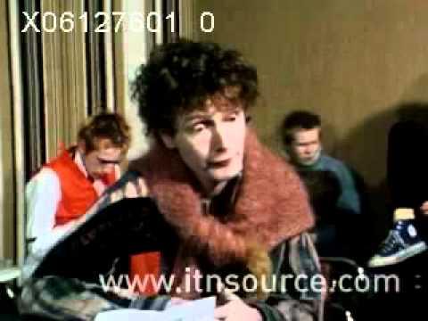 Malcolm Mclaren  Sex Pistols 1976