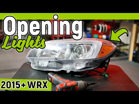 How To Customize your HEADLIGHTS - 12 Tips to Open with NO Damage