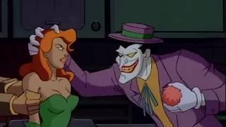 Batman TAS Harley and Ivy captured