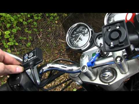 Honda CB400 Super Four (NC31) Stock Exhaust Vs Beowulf without Baffle
