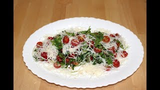 Салат с Рукколой и томатами Черри - Готовим вкусно и красиво