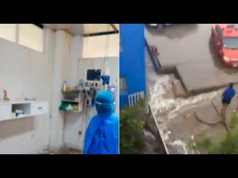 Fuertes lluvias ocasionaron colapso de pared en hospital de Tacna   90 Digital