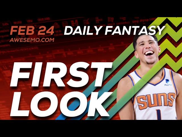 The DFS Early Bird - NBA First Look - Top NBA DFS Plays SuperDraft, DK, FanDuel 02/24/2020