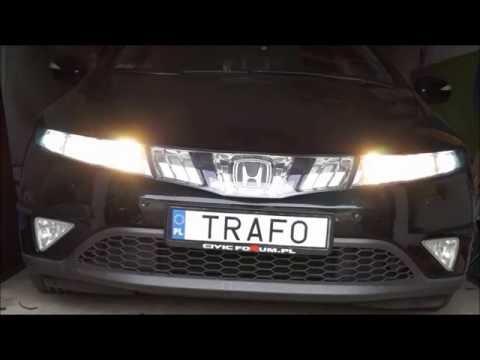 Trafo światła Do Jazdy Dziennej Drl Honda Civic 5d 8 Gen Ufo