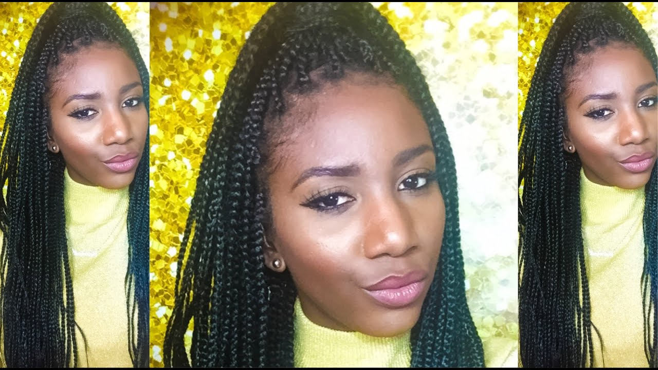 How To| Install Box Braids YOURSELF! SimplySubrena - YouTube - photo#22