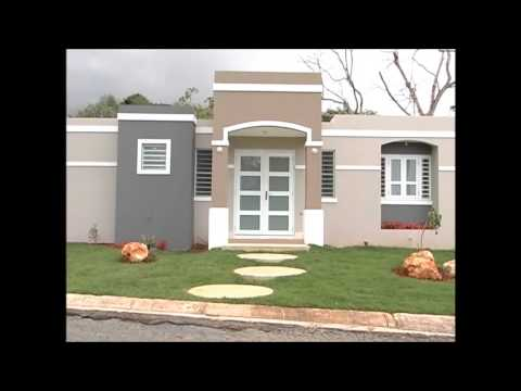 Casas caribe as caribe terrera const youtube for Casas modernas terreras