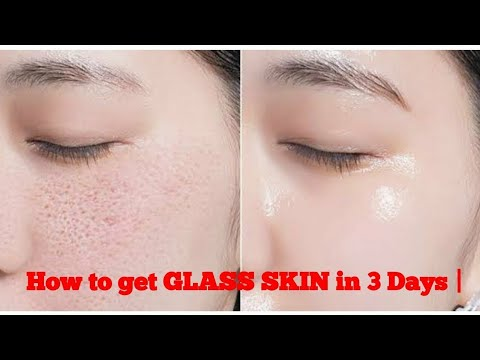 How to achieve GLASS SKIN with Natural Ingredients in 5 days for boys