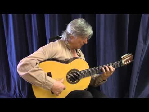 Chuscales' New Flamenco Guitar from Jeff Sigurdson