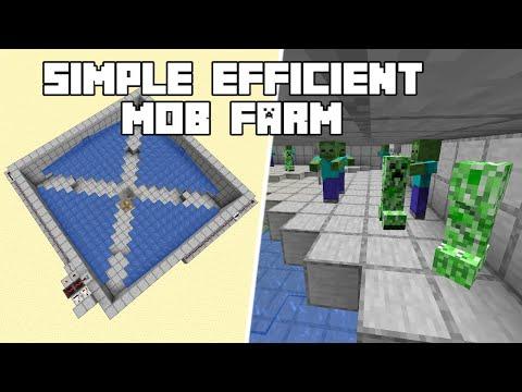Efficient Mob Farm V2 - Minecraft 1.16+ Tutorial (Java Edition)